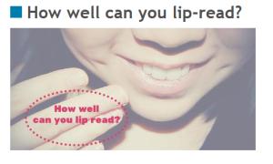 Lipreading